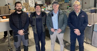Rohde's free range egg farm in SA acquires new model Riva Selegg E20 egg grader